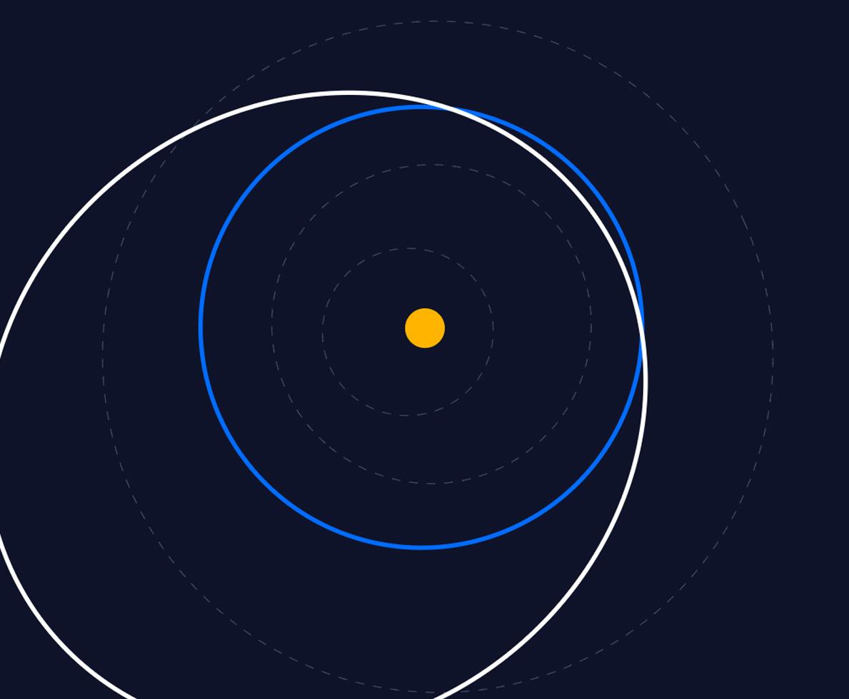 30-метровый астероид мчится к Земле. Он пролетит в 5 раз ближе Луны