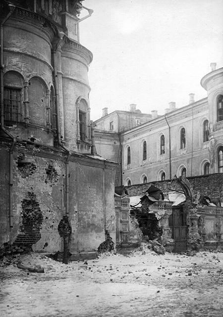 Как большевики взяли Кремль