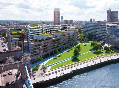 Названа средняя стоимость жилья в Лондоне