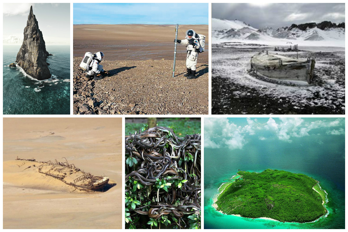 Необитаемых островов на Земле больше, чем обитаемых. По большей части это маленькие острова и главная причина их необитаемости - отсутствие пресной воды. Однако, причины необитаемости бывают разные. жизнь, земля, интересное, необитаемые острова, факты