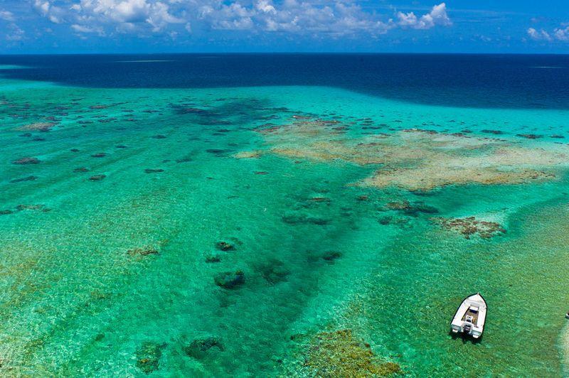 Полинезийский рай с высоты воздушного змея
