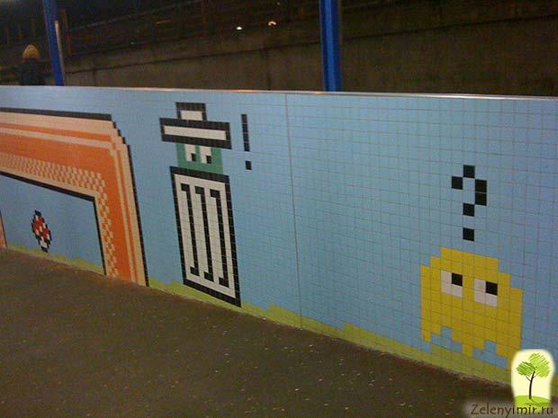 Ошеломляющее метро в Стокгольме – самая длинная художественная галерея в мире, Швеция - 6