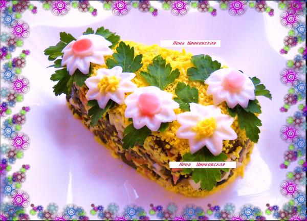 Салат на Масленицу