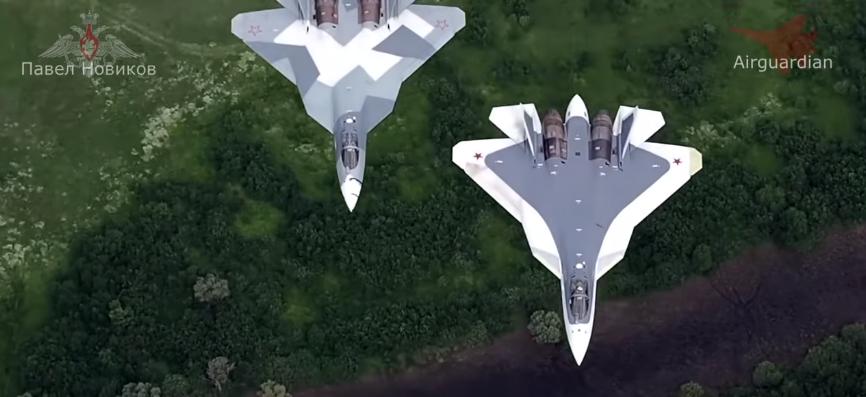 Су-57 в будущем может стать ударным беспилотником, не имеющим аналогов в мире