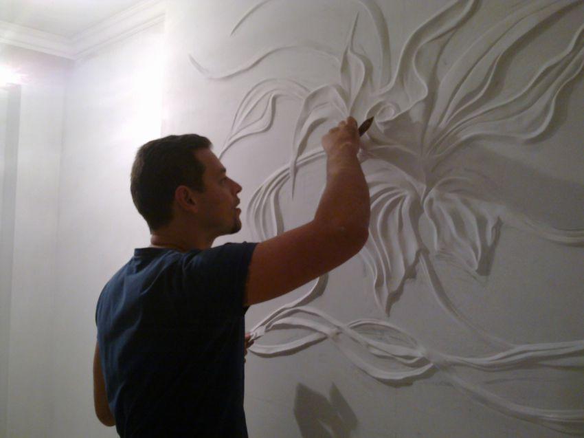 творчество, ремонт, своими руками, стены