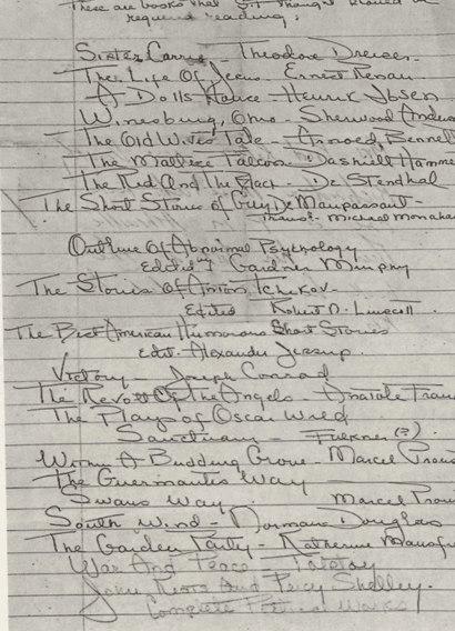 Список Фицджеральда: 22 книги, которые писатель рекомендовал своей сиделке