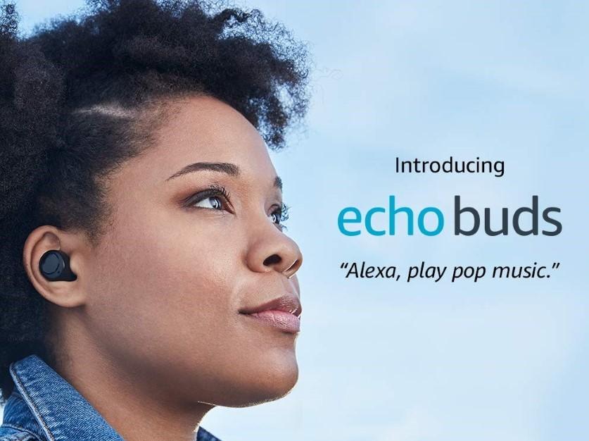 Amazon Echo Buds: беспроводные наушники с системой шумоподавления Bose, автономностью до 20 часов и ценником в $130