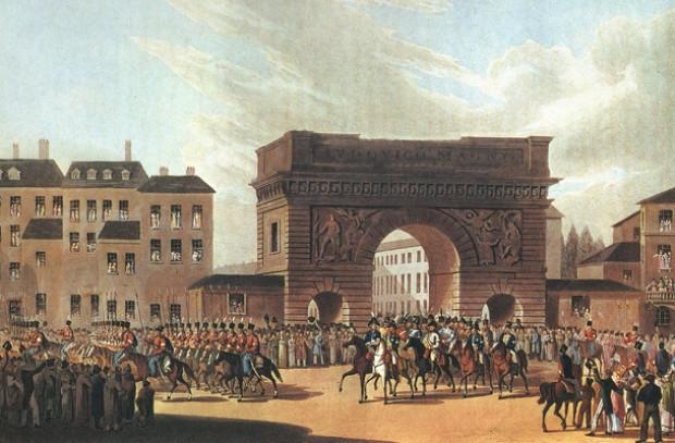 Смотр русских войск в Париже: крупнейший парад в мировой истории