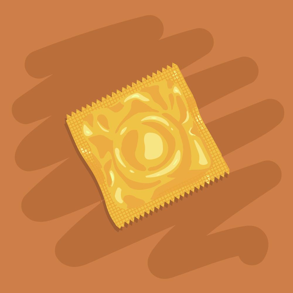 Анекдот про то, как мужчина один презерватив покупал