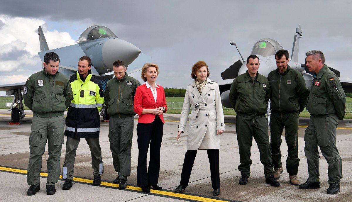 Франко-германские соглашения о совместном создании перспективных танка и боевого самолета