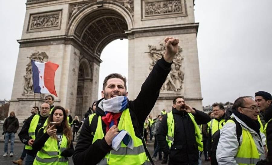 «Жёлтые жилеты»: новая франц…