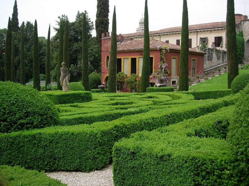 Парк Джусти. Верона, Италия