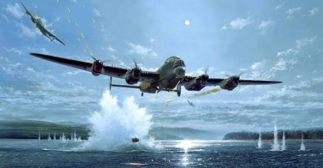 Прыгающая бомба для разрушения плотин
