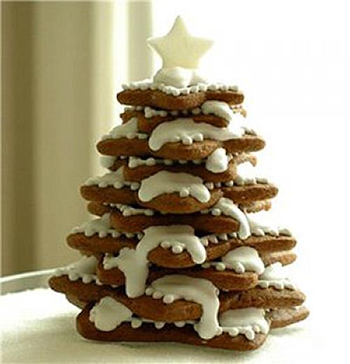 Как испечь рождественскую елку