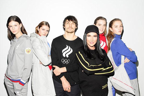 Она одела российских олимпийцев, и ее возненавидела вся страна