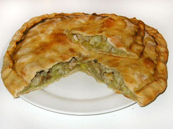 Финский пирог с ряпушкой рецепт