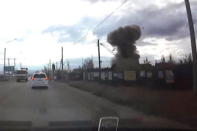В России сдали в лом ракету. Она взорвалась