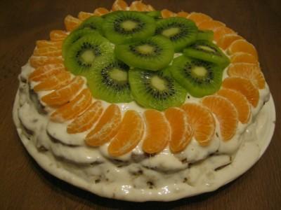 Рецепт фруктового торта