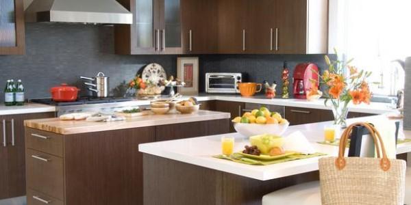 Коричневые кухни-1