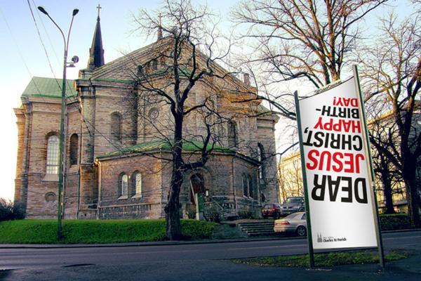 Jesus' Birthday , Estonian Evangelical Lutheran Church, Vatson & Vatson / Y&R, Печатная реклама