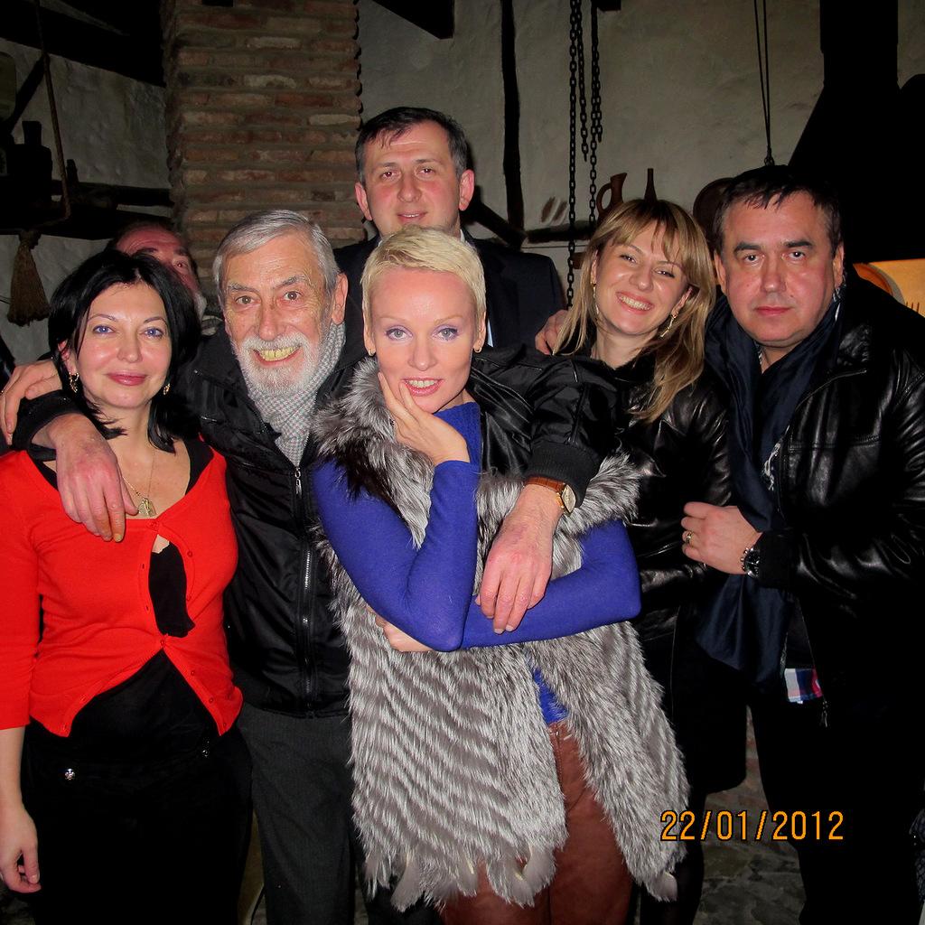 Великолепный актер, певец, гражданин, мой друг о  экс-президенте Грузии