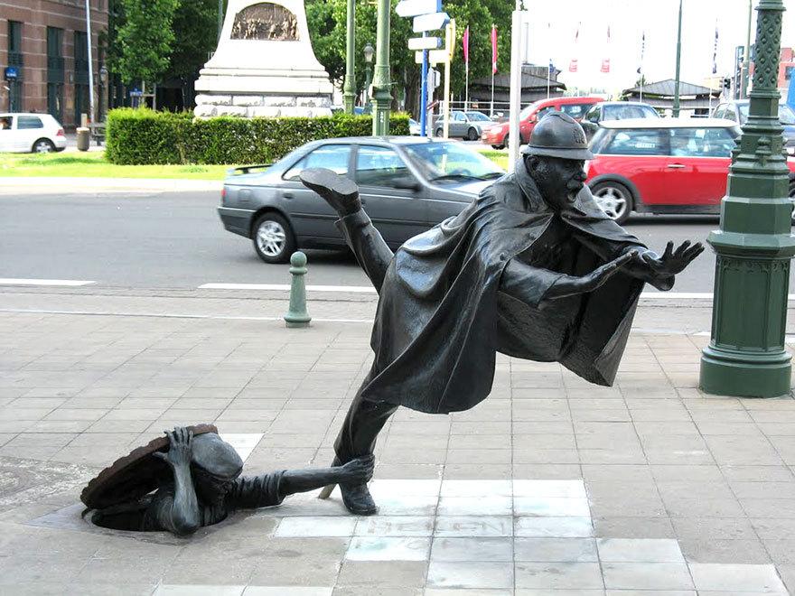 25 самых экстраординарных скульптур и статуй со всего мира