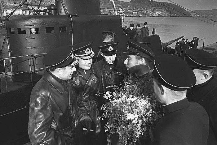 командиры подводных лодок балтийского флота
