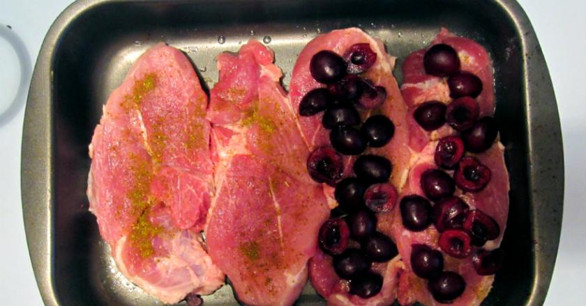 Интересные блюда с ягодами