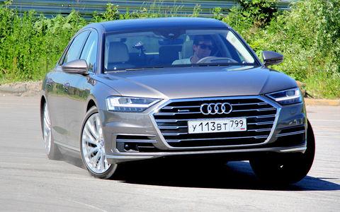Audi A8: меч джедая!