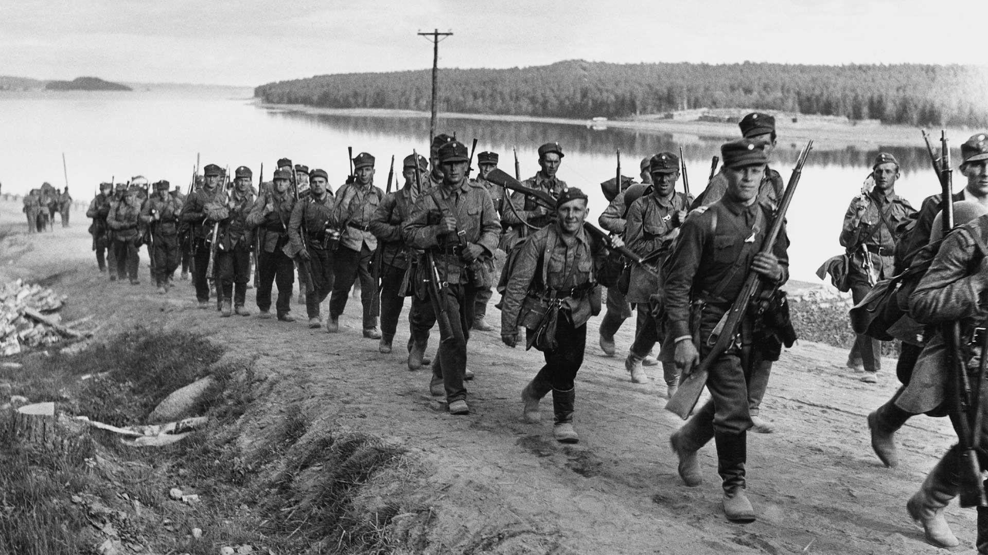 Ведение Финляндией боевых действий 1941-1944 гг