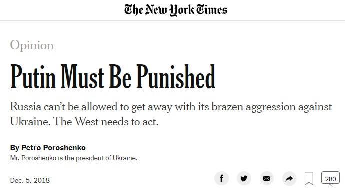 Украинский президент подался в американскую журналистику