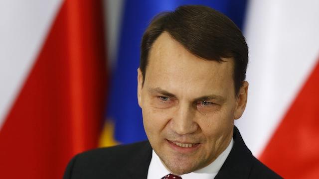 Сикорский: Путину надо показать, что раздел Украины выйдет ему боком