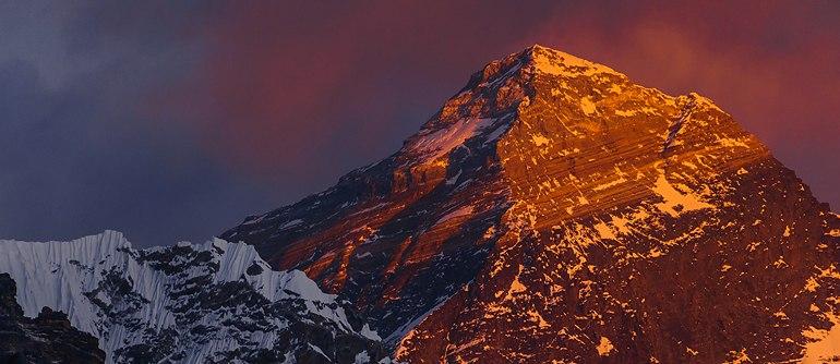 Эверест с высоты 7000 метров, Непал • 360° Аэрофотопанорама