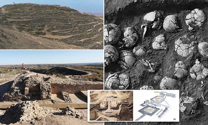 В Китае обнаружено древнее святилище с останками людей, принесенных в жертву