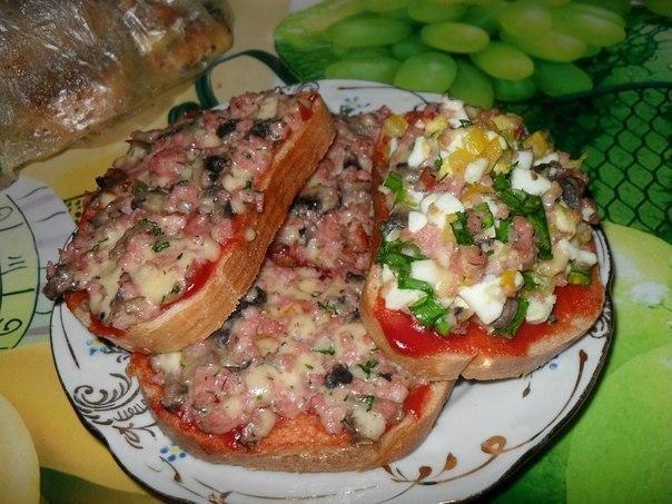 Очень вкусные и сытные бутерброды для завтрака и ужина!