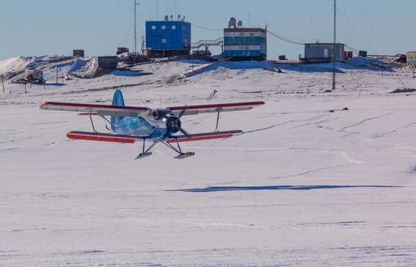 Китай построит первый аэропорт в Антарктиде