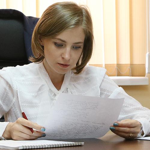 Поклонская предложила проверить ФБК Алексея Навального и Transparency International на коррупцию