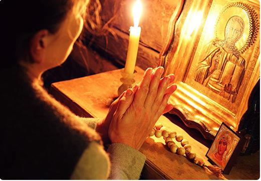 Молитва из сердца будет услышана богом.   фото https://sorokoviny.ru