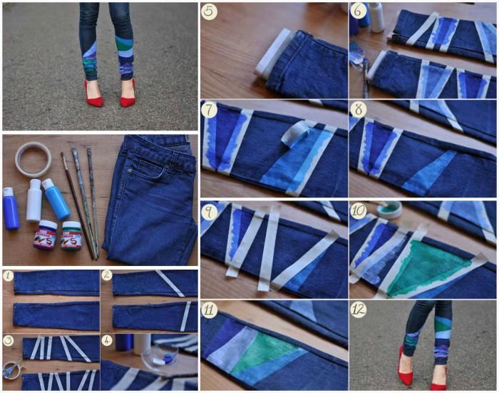 Как обновить свой гардероб своими руками