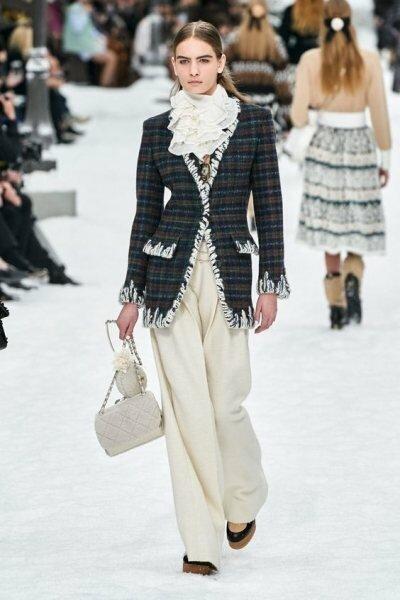 Прощай, Кайзер – 8 трендов, которые завещал нам Карл Лагерфельд в своей последней коллекции для Chanel