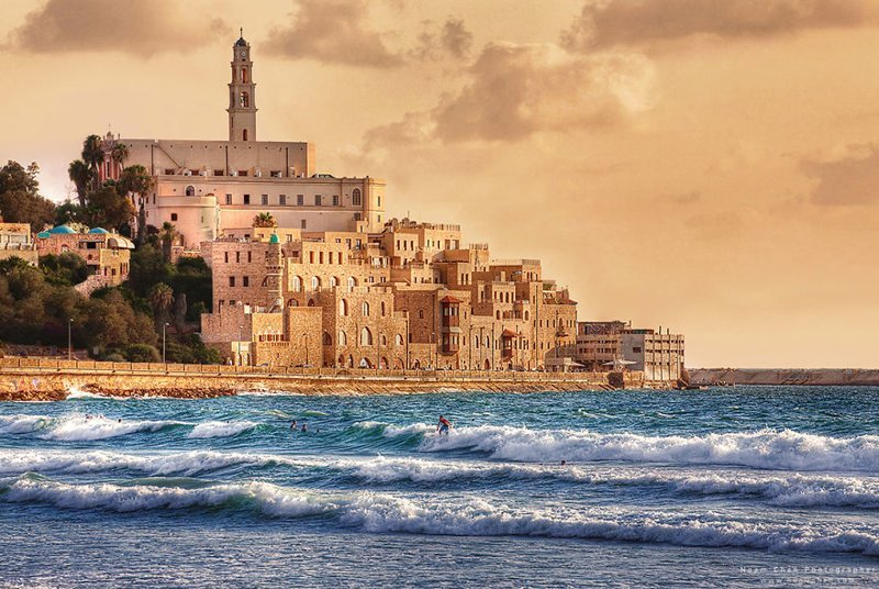 Крепость где-то у берегов Адриатики? На самом деле - старый город Яффы Израиль, красиво, красивые места, природа, страны, страны мира, фото, фотограф