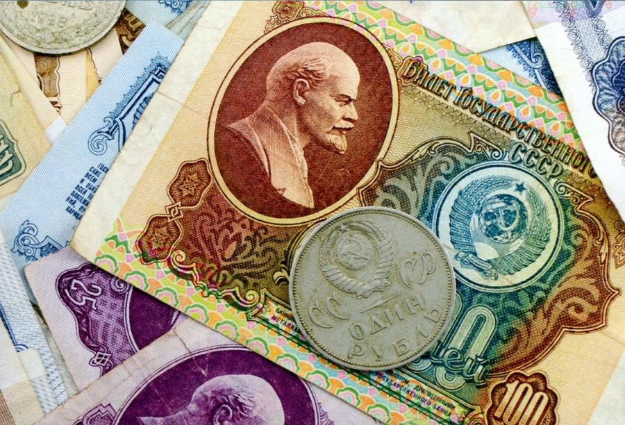 Сколько сейчас стоит доллар в советских рублях