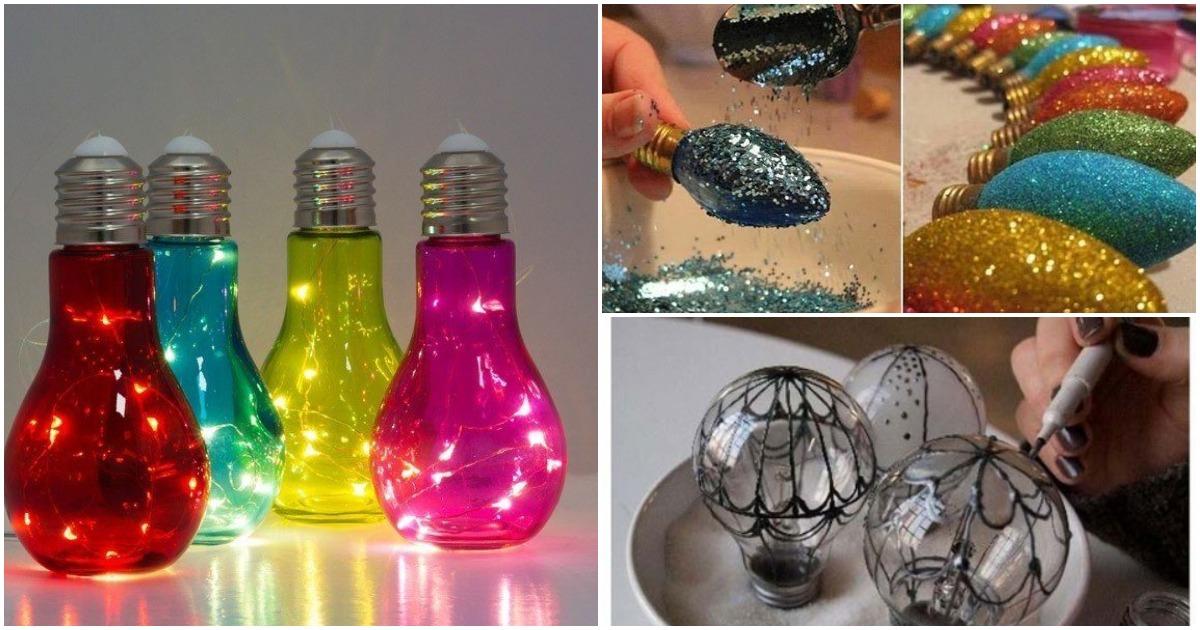 Лампочка перегорела? 20+ полезных идей её использования