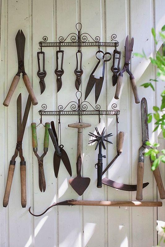 Поделки садовый инвентарь 74
