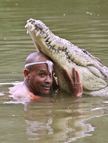Правила жизни рыбака, приручившего крокодила