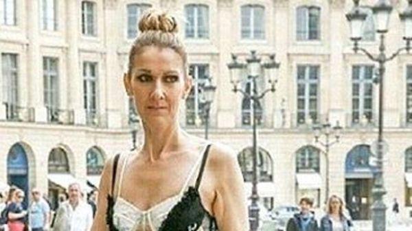 Образ дня: Селин Дион в Alexander McQueen