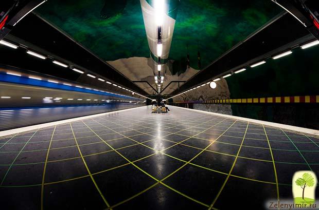 Ошеломляющее метро в Стокгольме – самая длинная художественная галерея в мире, Швеция - 28