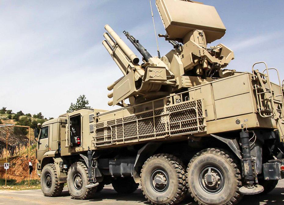 Ракетный удар Израиля по Сирии отразили российские «Бук» и «Панцирь»