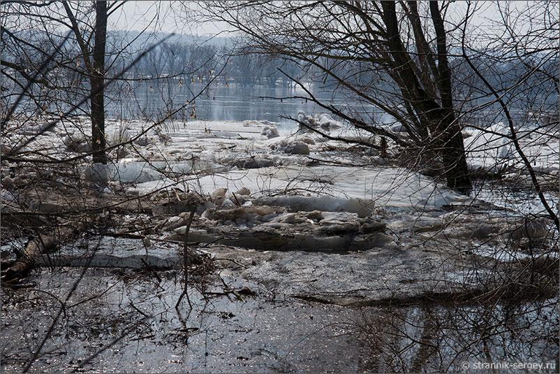 Главная стихия весны: разлив