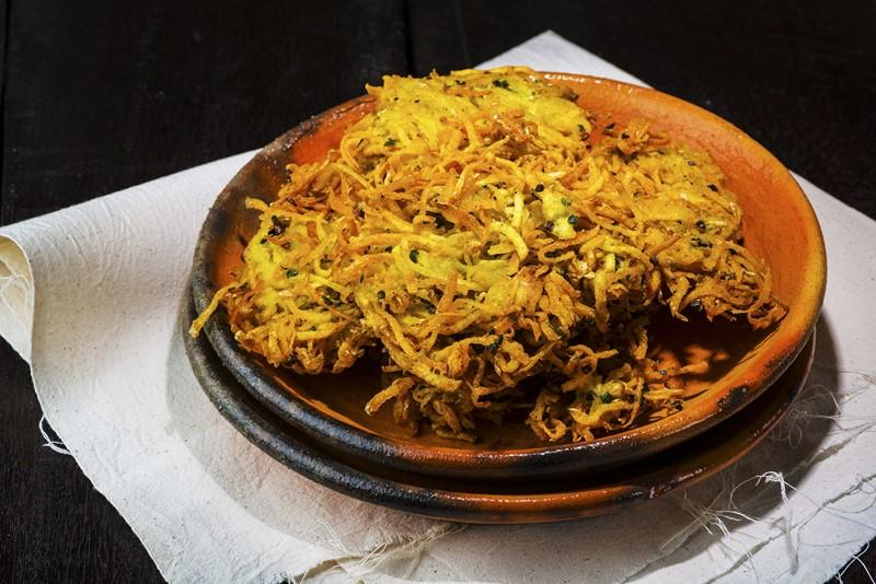 Рецепт картофеля с луком